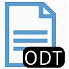 Download ODT bestand